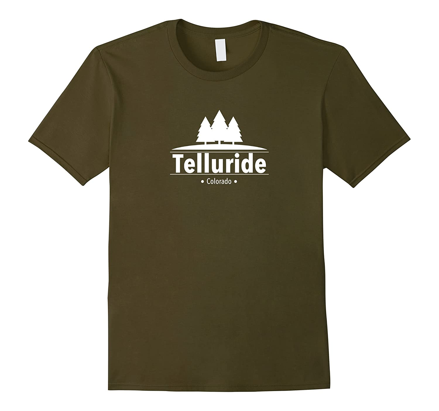 Telluride Colorado - Forest T-Shirt-RT