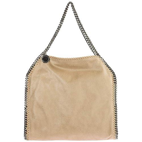 59ef3a5f5c34 Stella Mccartney women Falabella Small shoulder bag beige  Amazon.co.uk   Shoes   Bags