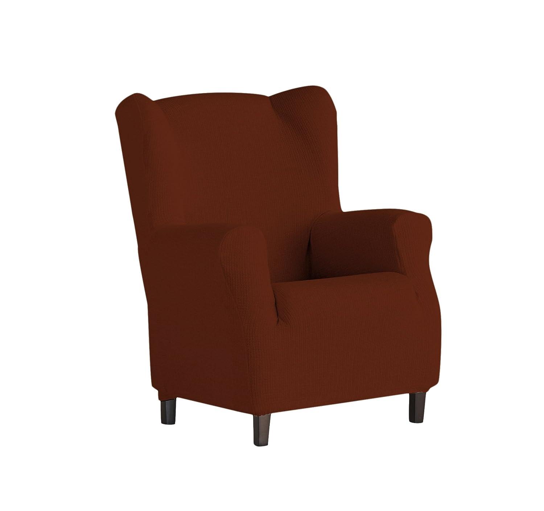 Eysa Dorian - Funda de sillón orejero bielástica, color crudo