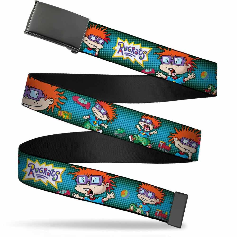 Buckle-Down Web Belt Rugrats 1.25 Nickelodeon BK-1.25-WRR002