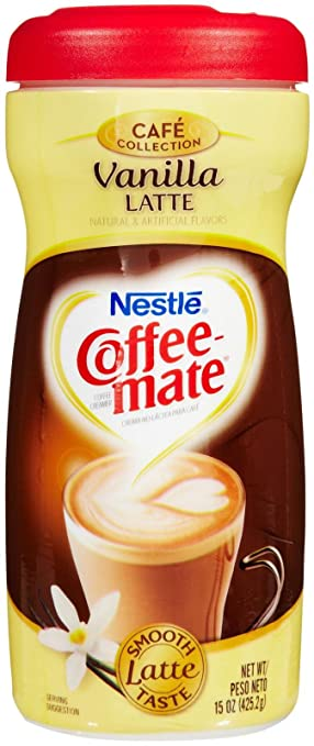 Nestle Coffeemate Vanilla Latte Coffee Creamer 15 oz