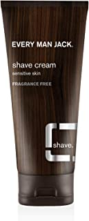 product image for Every Man Jack Shave Cream Sensitive Skin Fragrance Fre 6.7 Ounce (198ml)