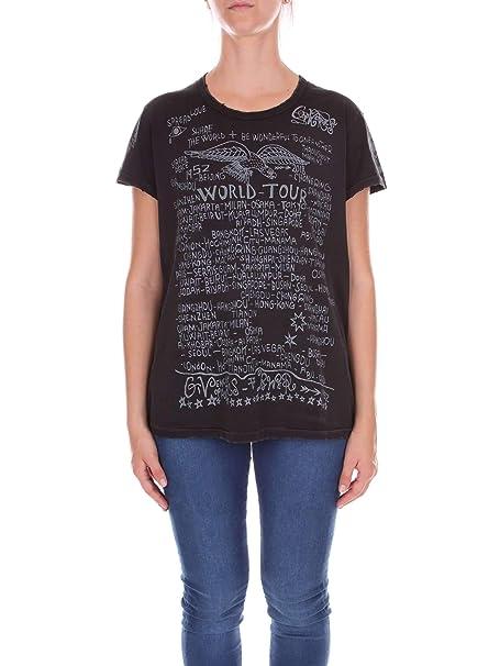 Givenchy BW702V30313 Camiseta Mujer Negro L