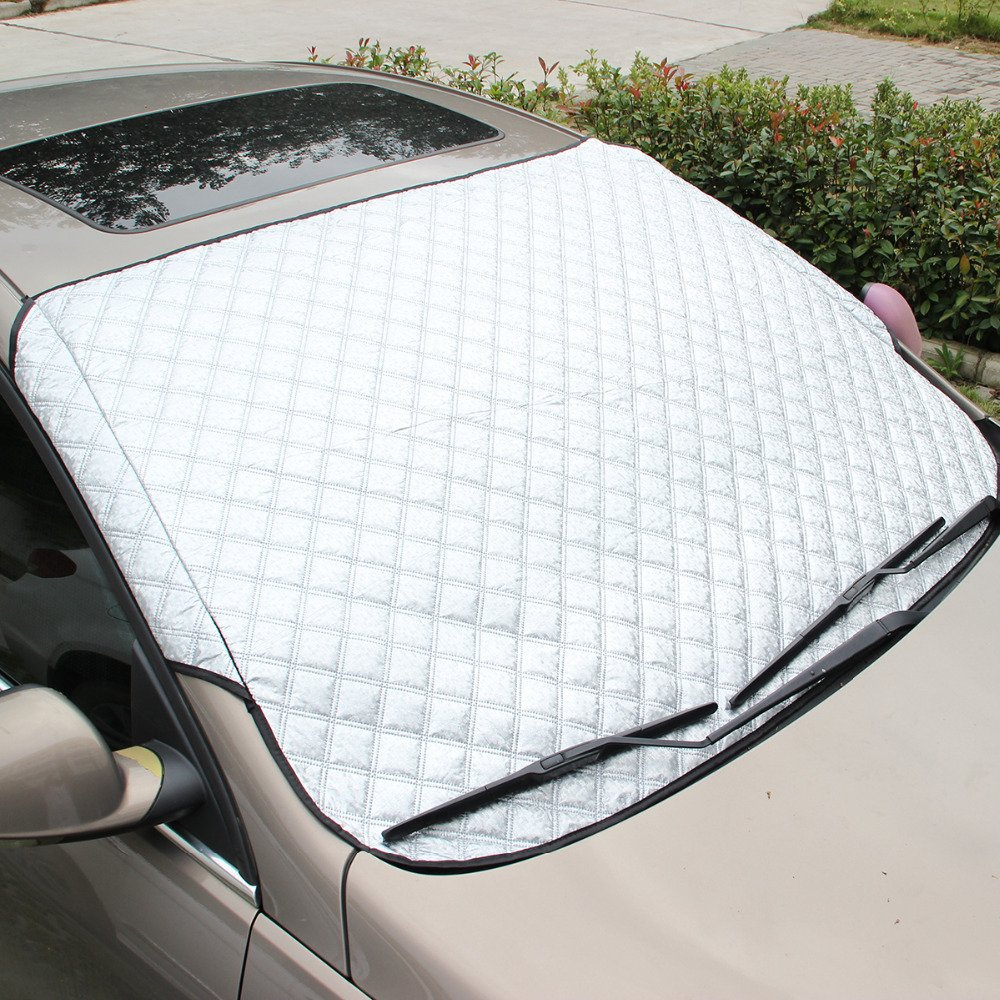QCYM Car Window Sunshade Car Covers For SUV And Ordinary Car Sun Shade Reflective Foil Car Windshield Anti-UV Ordinary car