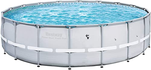 Bestway 12753 Steel Pro Frame Pool, 18-Feet by 52-Inch