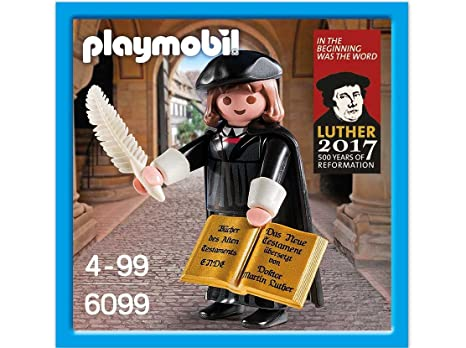 Amazon.com: Playmobil 6099 Martin Luther Figure Special Edition ...