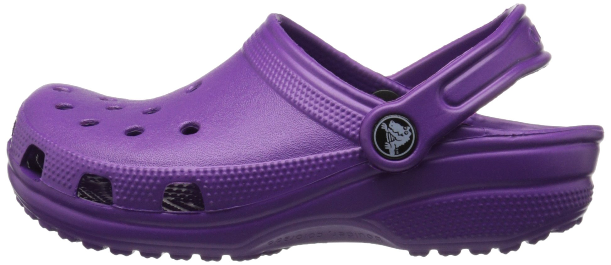 Crocs Kid's Classic Clog K Shoe, Amethyst, 7 M US Toddler by Crocs (Image #5)