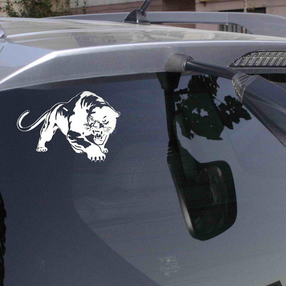 TTMALL Adesivo per Auto,Tigre Adesivo Esterno per Auto,Vinile ,Circa 20 x 13 cm,Stickers Adesivi per Auto,Adesivo della Pista Bicicletta Adatto per Auto Camper