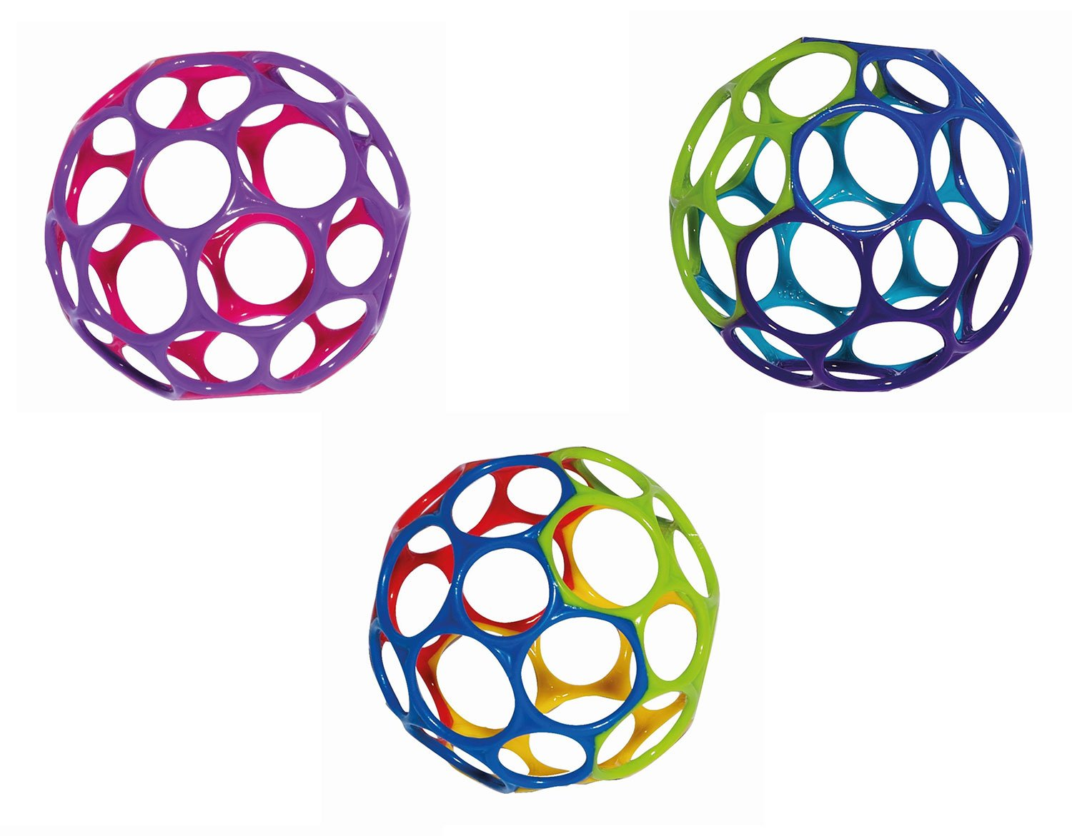 Oball Toy Ball, Multicolored, Assorted by Oball (Image #3)
