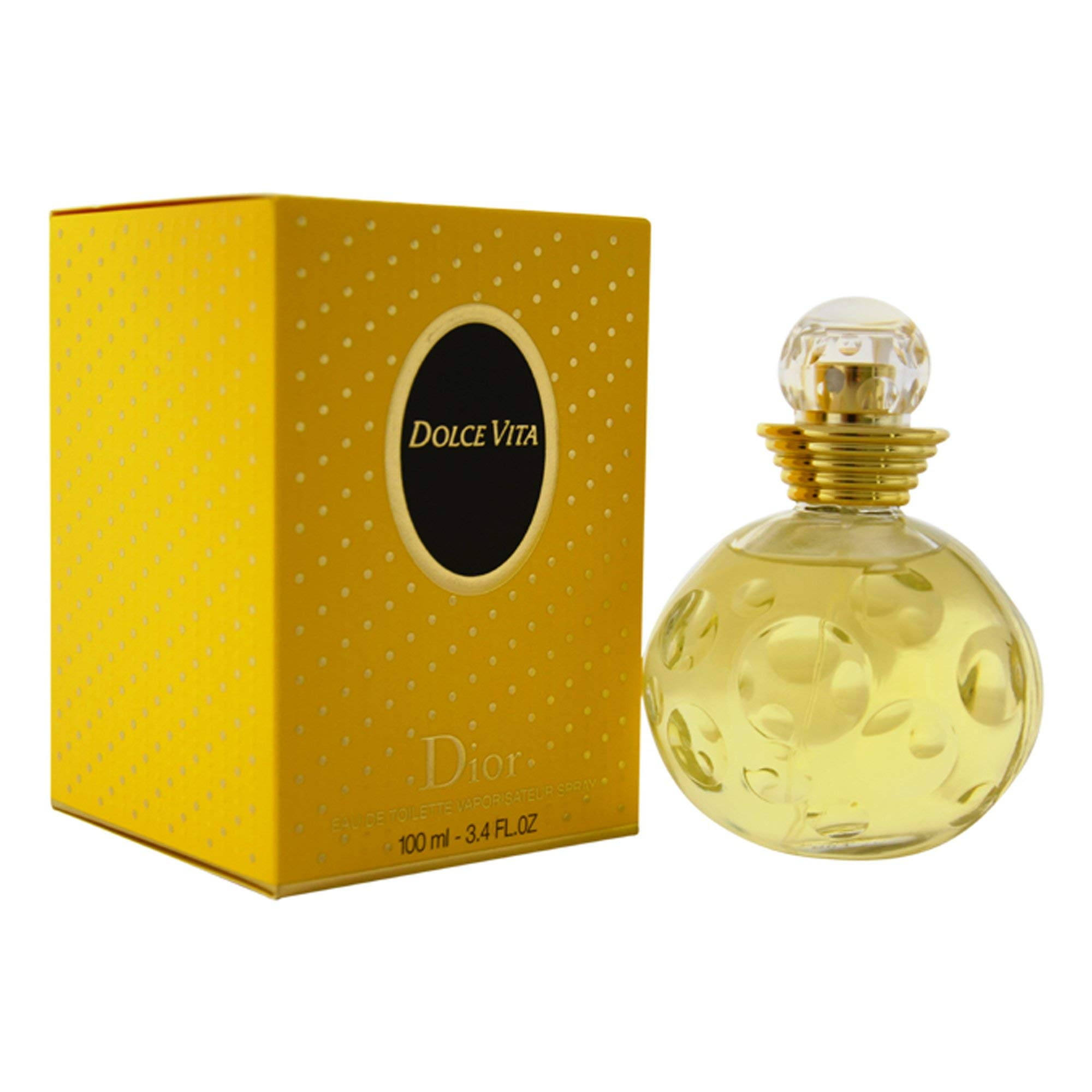 Dolce Vita By Christian Dior For Women. Eau De Toilette Spray 3.4 Oz.