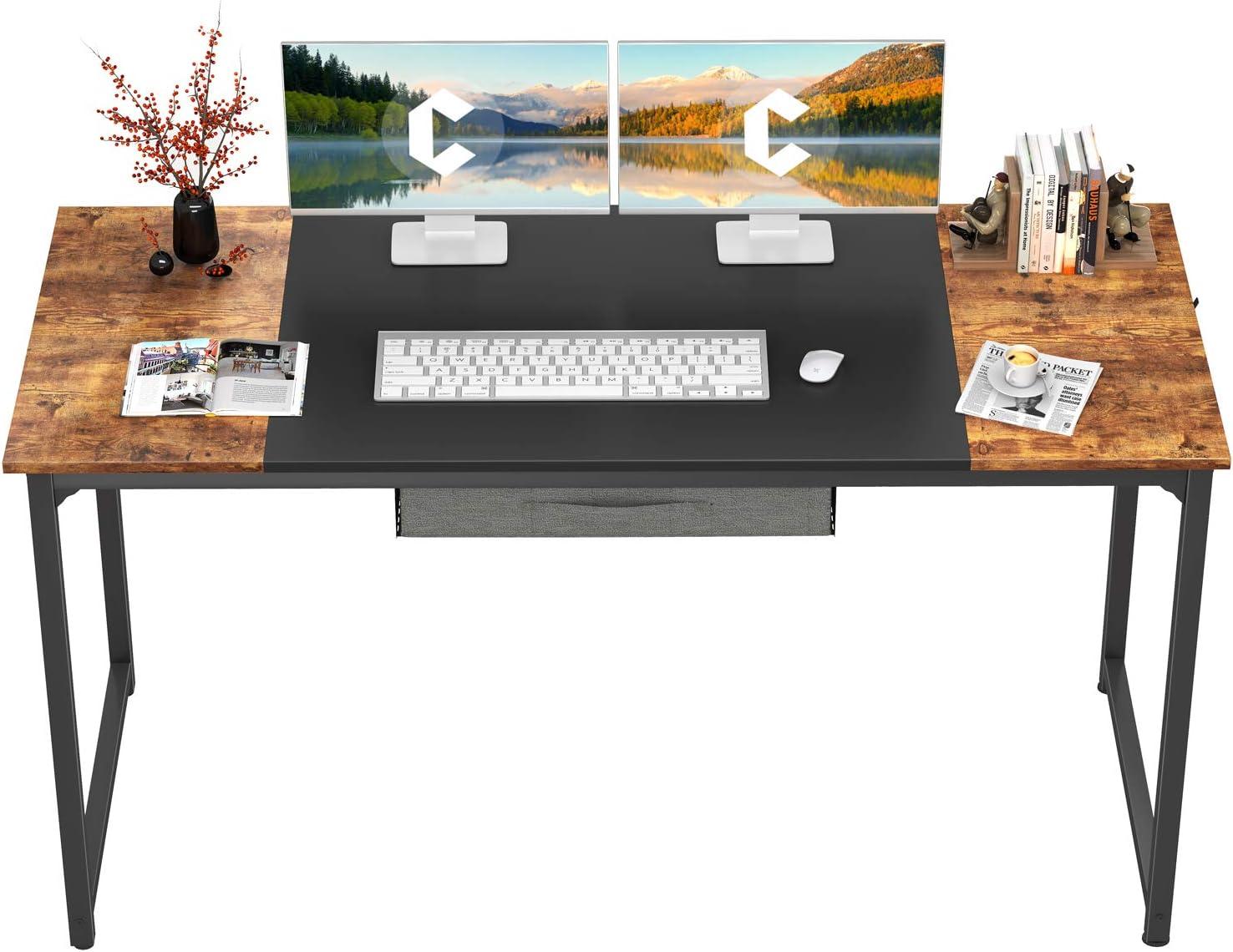 CubiCubi Computer Desk with Drawer 55