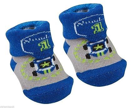 BABYTOWN recién nacido bebé ducha Botitas de calcetines de coche de ...