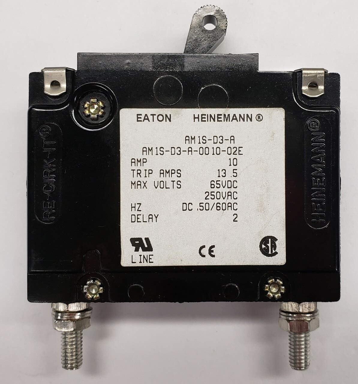 Heinemann Circuit Breaker AM1S-D3-A-0015-02E