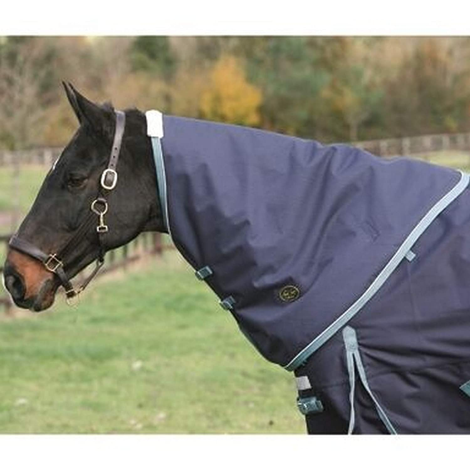 Navy Jade M Navy Jade M Mark Todd Heavyweight Turnout Rug Neck Cover