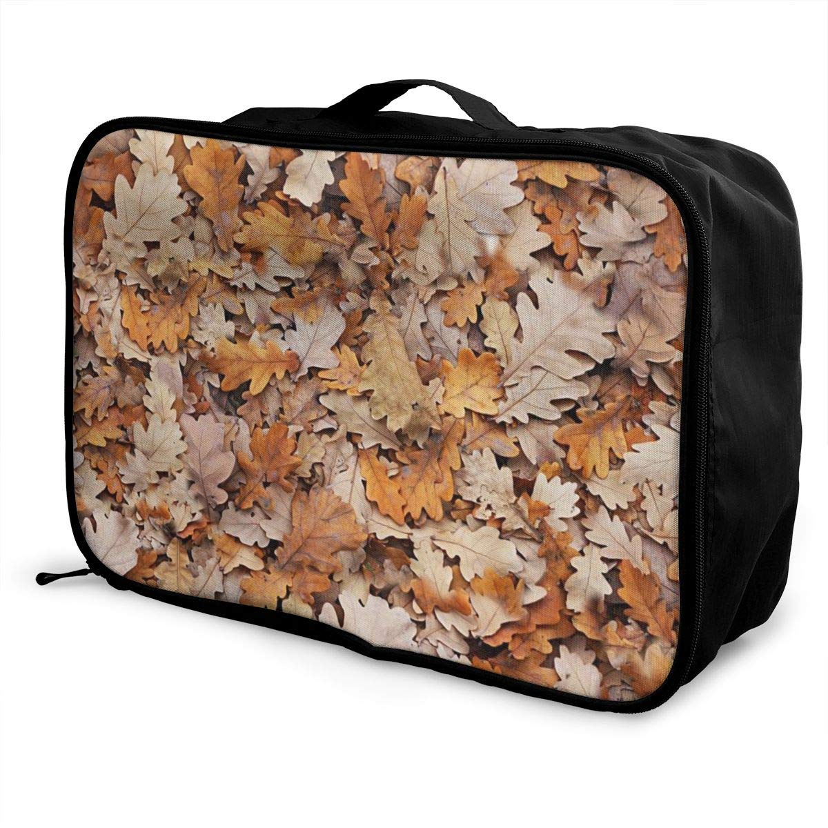 Autumn Leaves Travel Carry Luggage Duffle Tote Bag