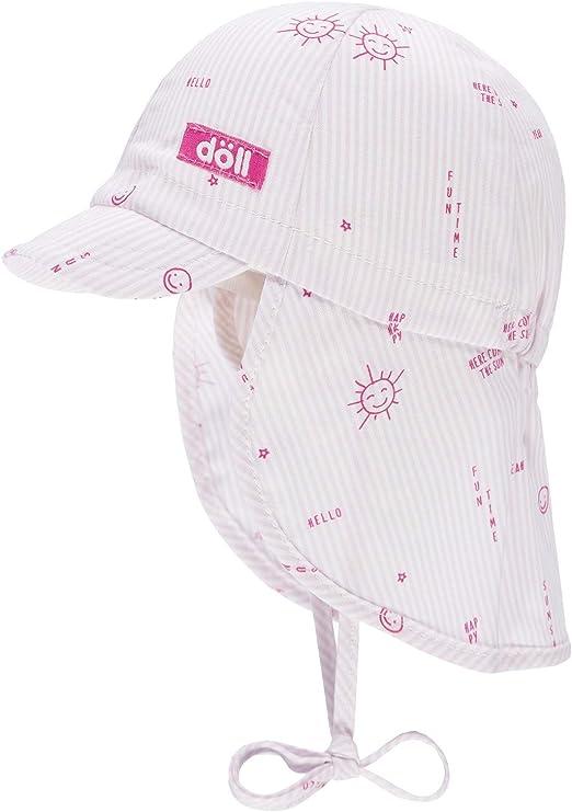 D/öll Baby-M/ädchen Nackenschutz Sonnenhut