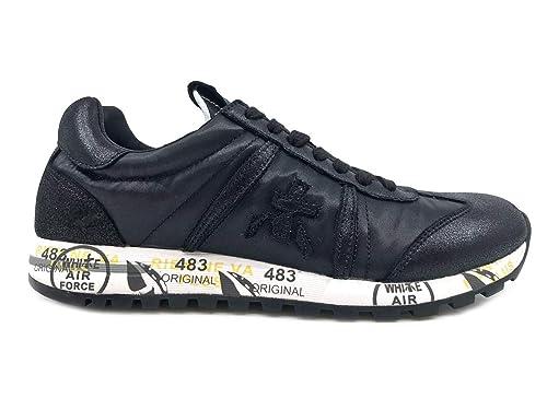 PREMIATA Lucy 3304 Sneaker Donna Nera Black, 38: MainApps