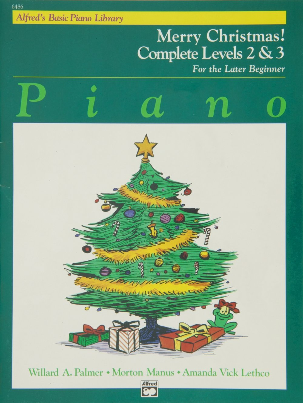 Alfred 00-6486 Basic Piano Course- Merry Christmas Complete Book 2 & 3 - Music Book B0032XX5KY