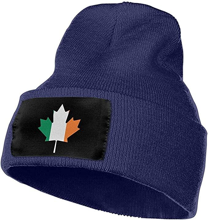Elxf Bandera Canadiense Irlandesa Unisex Hoja de Arce Sombrero de ...