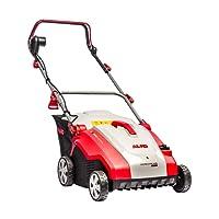 AL-KO Elektro-Vertikutierer Combi Care 36 E Comfort, 36 cm Arbeitsbreite, 1500 W Motorleistung, 2 Achsen für hohe Fahrstabilität, für Rasenflächen bis 800 m², Arbeitstiefe 5-fach verstellbar, inkl. Fangsack und Lüfterwalze