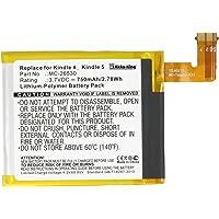 Akku-King Akku ersetzt Amazon MC-265360 - Li-Polymer 750mAh - für Kindle 4, 4G, 5, 6, D01100