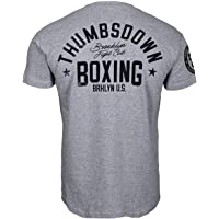 Thumbsdown Thumbs Down Boxeo Camiseta Brooklyn Fight Club MMA. Gimnasio Entrenamiento. Marcial Artes Informal