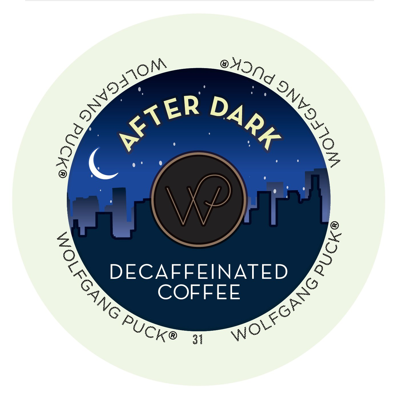 Wolfgang Puck After Dark Decaf Coffee Single Serve Cups (72 Count)
