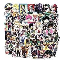 Guyuca My Hero Academia Pegatinas Juego, Anime Impermeable Pegatinas Adhesivas, para Botellas de Agua/Skate/Almohadilla…