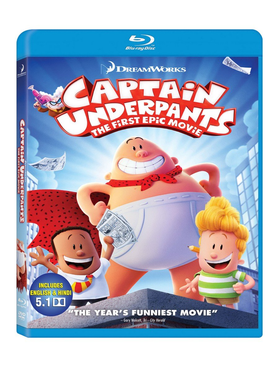 Captain Underpants The First Epic Movie Amazon In Kevin Hart Ed Helms Nick Kroll David Soren Kevin Hart Ed Helms Movies Tv Shows