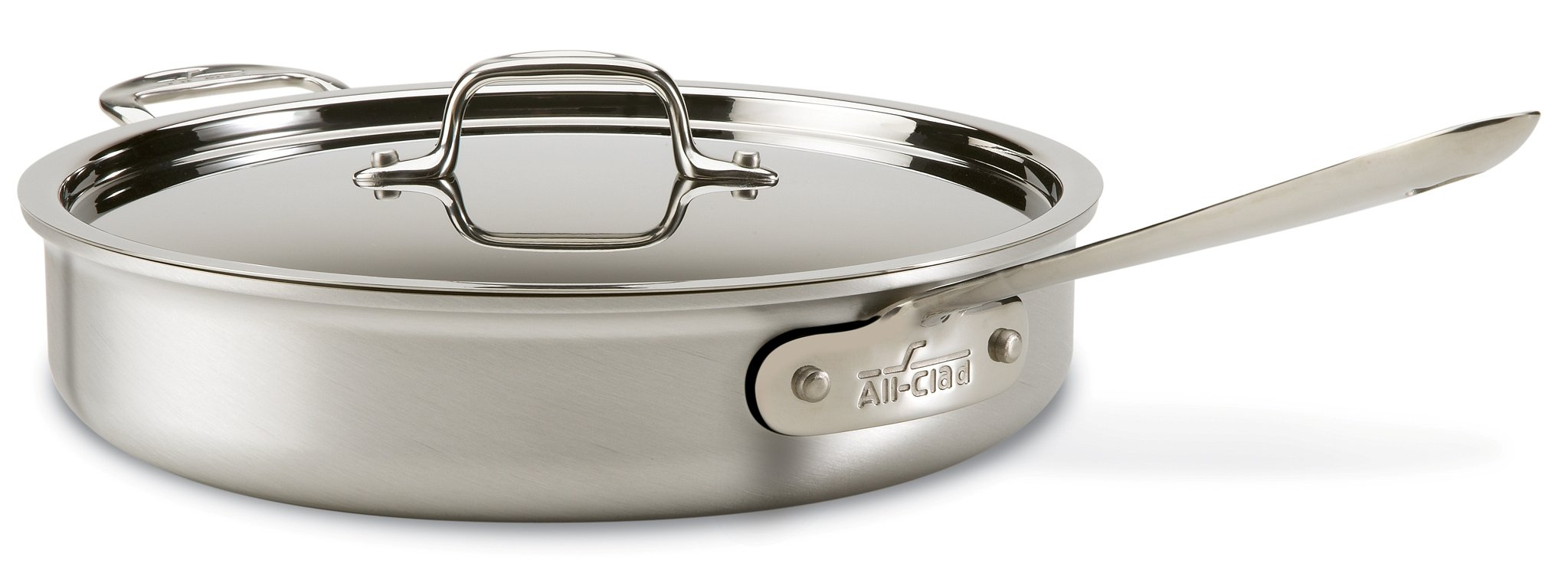 All-Clad 700362 MC2 Professional Master Chef 2 Stainless Steel Bi-Ply Bonded Oven Safe PFOA Free Cookware Set, 10-Piece, Silver by All-Clad (Image #5)