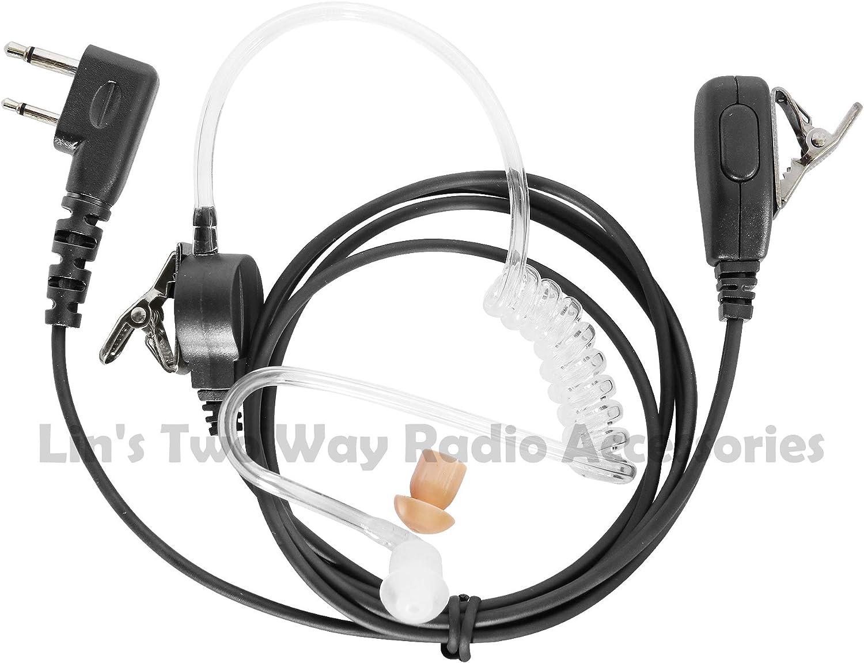 Earpiece//Headset For Icom Radios IC-F4SR IC-3GT IC-F21 IC-V80E IC-V85 IC-F4026