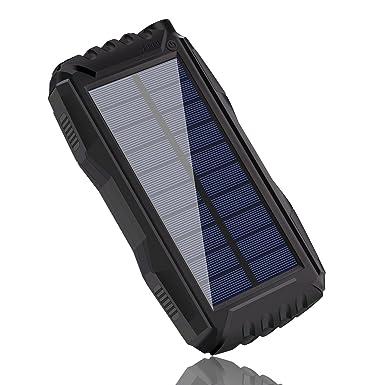 Solar cargador de teléfono, tayinplus 25000 mAh cargador ...