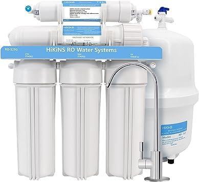 HiKiNS Sistema de filtración de Agua de ósmosis inversa RO-125G ...