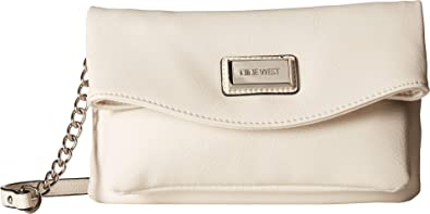 628875bdcc76 Nine West Women s Tunnel Crossbody Milk One Size  Handbags  Amazon.com