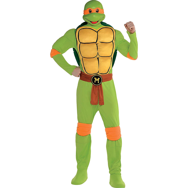 Amazon.com: Amscan - Disfraz de Michelangelo para hombre ...