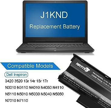 FYL Battery for Dell Inspiron N4110 N4010 N5010 N5110 N7110 M5010 M3010 J1KND FS