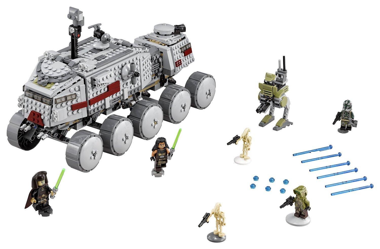 Amazon.com : LEGO Star Wars Clone Turbo Tank Building Kit Children s Toys Educational Building Blocks Toys : Baby
