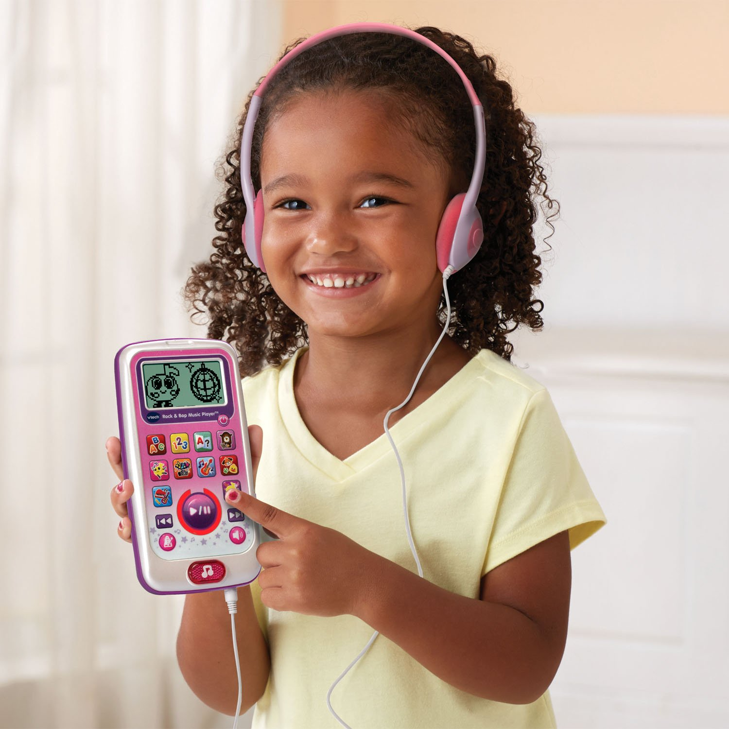 VTech Rock and Bop Music Player Amazon Exclusive, Pink by VTech (Image #4)