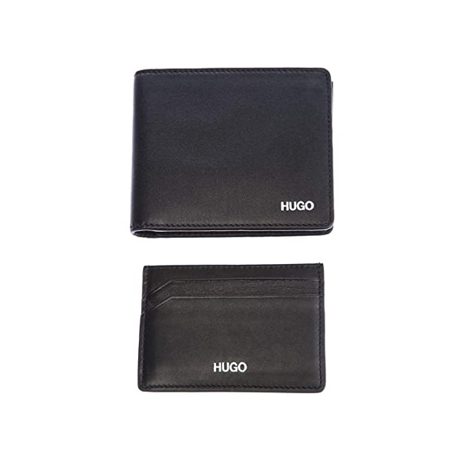 Amazon.com: Hugo Boss - Cartera de piel con tarjetero, color ...