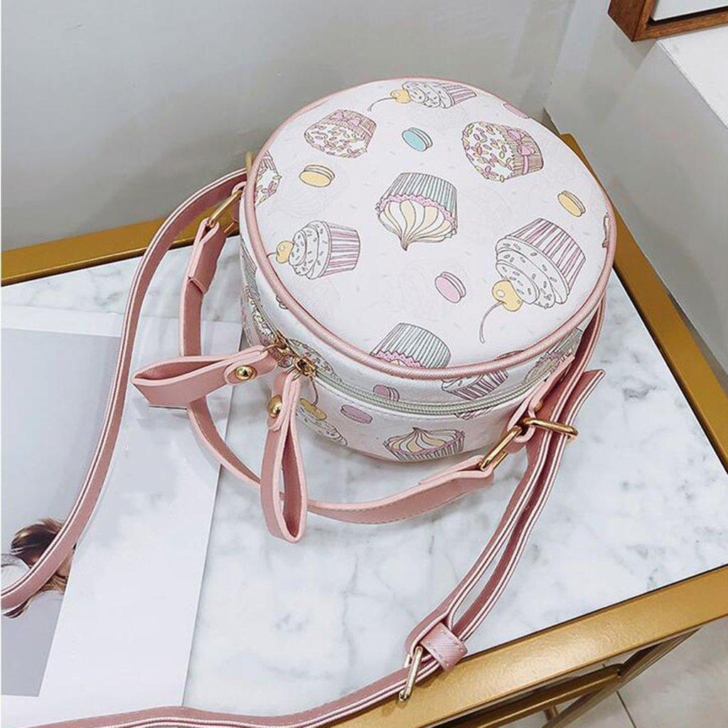 Liu Yu·casa creativa Bolso de Crossbody Bolso de Mujer de la Personalidad versátil Crossbody Bag Mini Bolso de Hombro Redondo Pequeña Bolsa de la Muchacha ...