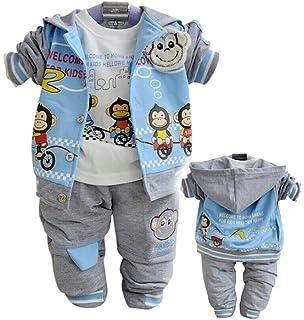 SOPO Baby Girls Polka Dot Big Button Flower Winter Jacket Outwear Cardigan 2-4Y