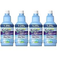 Swiffer WetJet Solution Nettoyante Pour Balai Spray 1,25 L - Lot de 4 (5 L)
