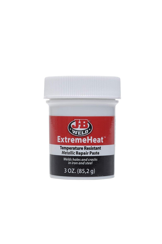 JB Weld 37901 Extreme Heat High Temperature Resistant Metallic Paste, 3 Oz