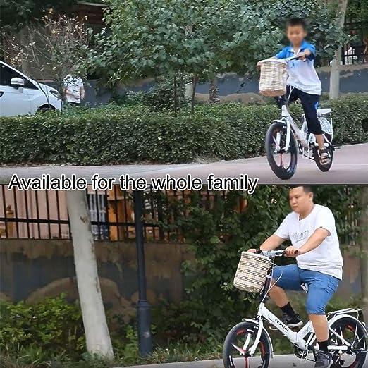 HEWXWX 20-Pulgadas Velocidad Bicicletas Plegables, Ultra SeñOras ...