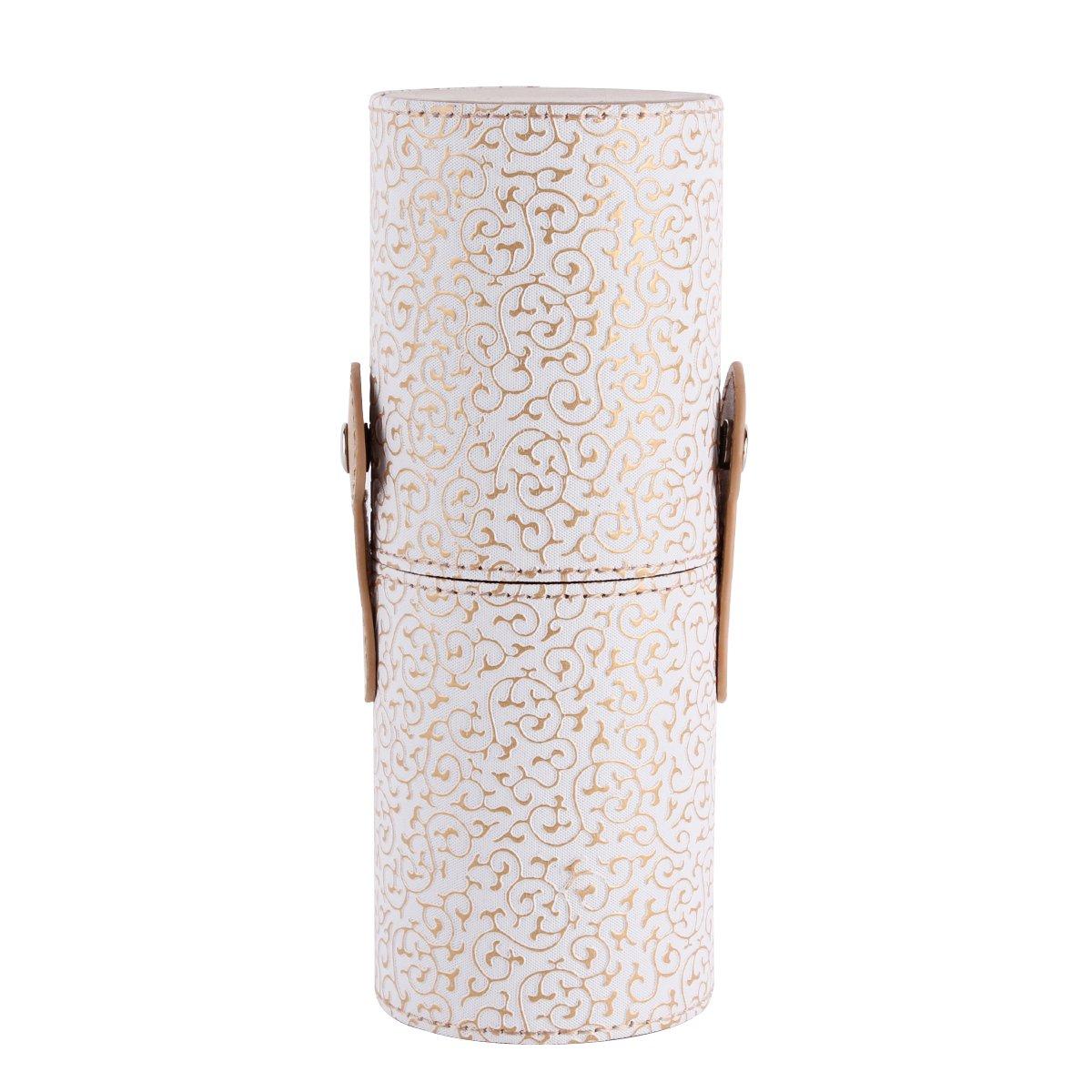UNIQUEBELLA Kosmetikkoffer für Makeup Pinsel Set Kosmetikum Büsten Werkzeug Makeup Brush Set Cosmetic