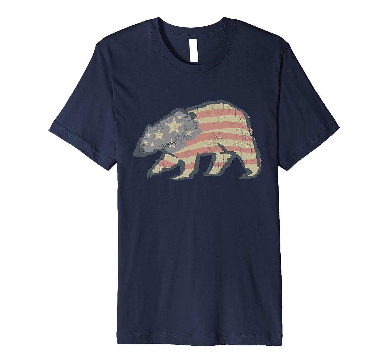 American Flag Shirt USA T Tee 4th Of July Clothing Fourth-TJ