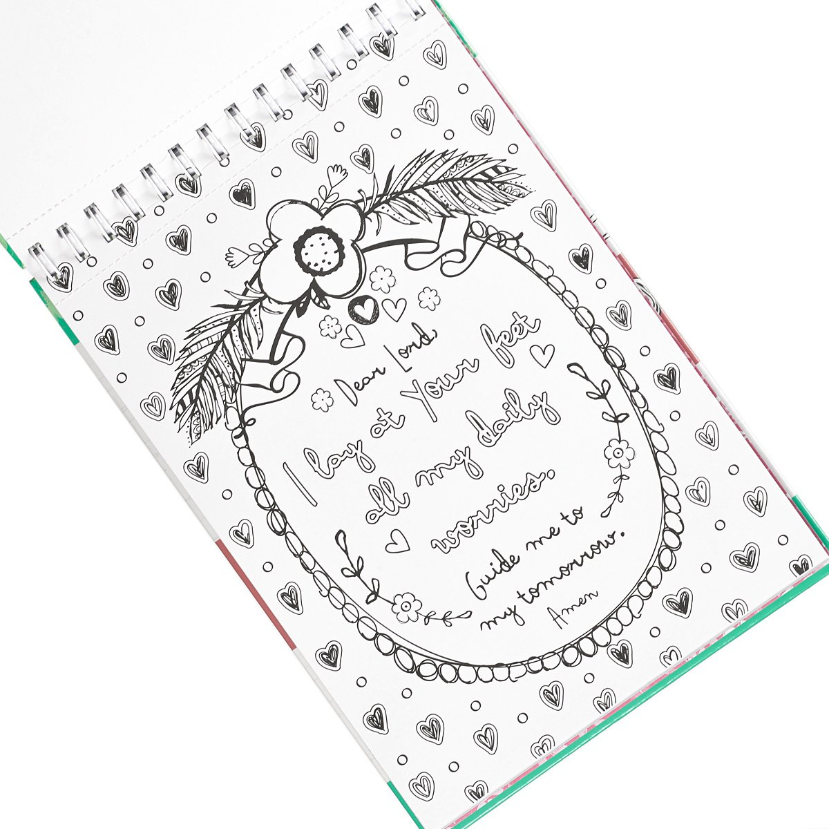 Publishers for adult coloring books - Amazon Com 34 Joy For The Journey 34 Hardcover Inspirational Adult Coloring Book 9781432115616 Christian Art Publishers Amylee Weeks Books