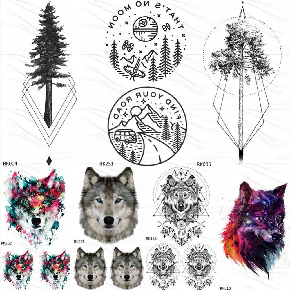 Tatuajes Temporales Niños Tatuajes Temporales De Montaña ...