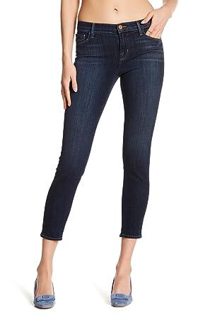 361524f2baab Amazon.com: J Brand Women's Jeans, Mid-Rise Crop, Oblivion, Size 31 ...
