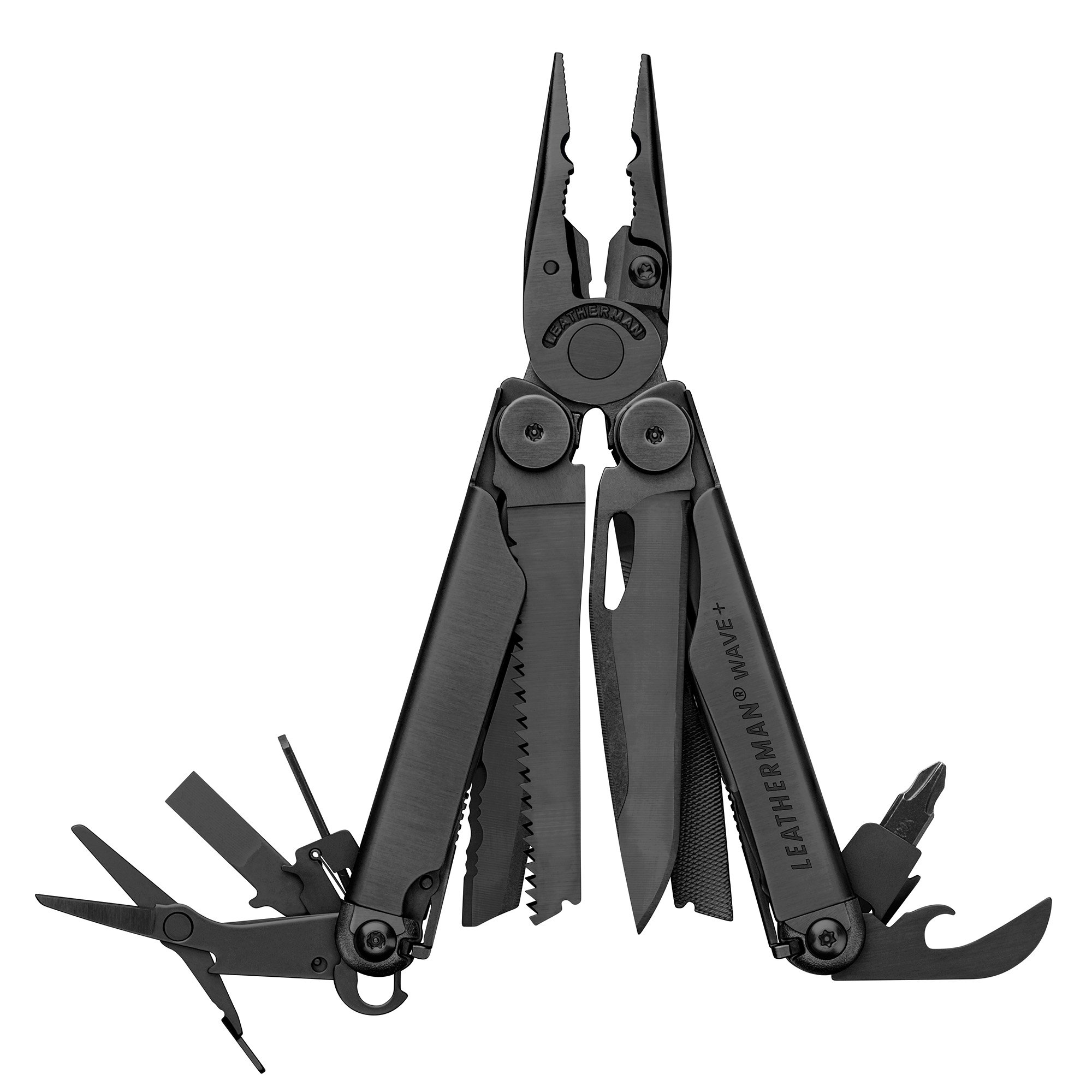 LEATHERMAN - Wave Plus with Cap Crimper Multitool, Black